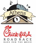 Chick-fil-A North Alabama Race Series- Athens 10k/5k/1 Mile @ Square in Downtown Athens